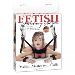 Fetish Fantasy Series Position Master With Cuffs-1