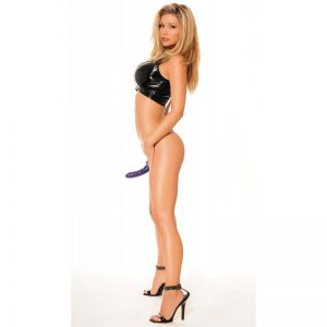 Arnes For Him Or Her Vibrating Hollow Strap-On