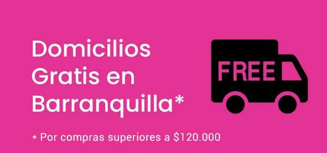 Domicilio Gratis por Compras Superiores a $120.000